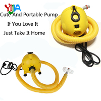 110V or 230V Inflatable Pump Bravo Electric Air pump for Inflatable Boat Bed Mattress, Tents, Kayaks, Air Tracks, Water Balls