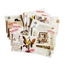 16 Pcs/lot Vintage Human&Plant Postcard Retro Style Birthday Greeting Card Fashion Gift Postcards For Friend