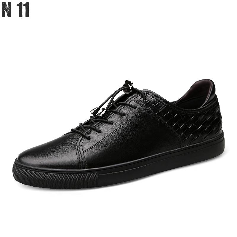 2017 New Mens Shoes Luxury Brand Designer Genuine Leather Lace Up Black Formal Dress Wedding Oxfords Derby Shoes Zapatos Hombre top quality crocodile grain black oxfords mens dress shoes genuine leather business shoes mens formal wedding shoes