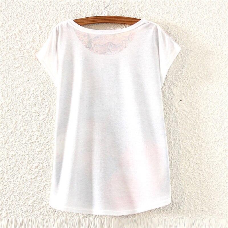 NIBESSER 2019 New Summer Women O Neck Streetwear T Shirt Print Shirt Harajuku Casual Top Tees Short Sleeve Cotton Loose T-shirt