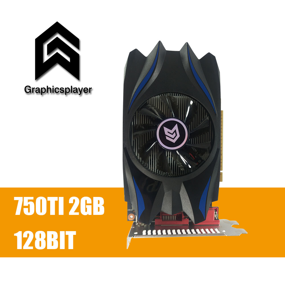 Grafikkarte GTX 750TI 2048 mb/2 gb 128bit GDDR5 Placa de Video carte graphique Video Karte für Geforce GTX PC VGA