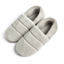 Winter Men Slippers 2018 Lovey Solid Non-slip Couple Slippers Plush Fur Warm Shoes Men Neutral Indoor Home Slippers Size 36-45