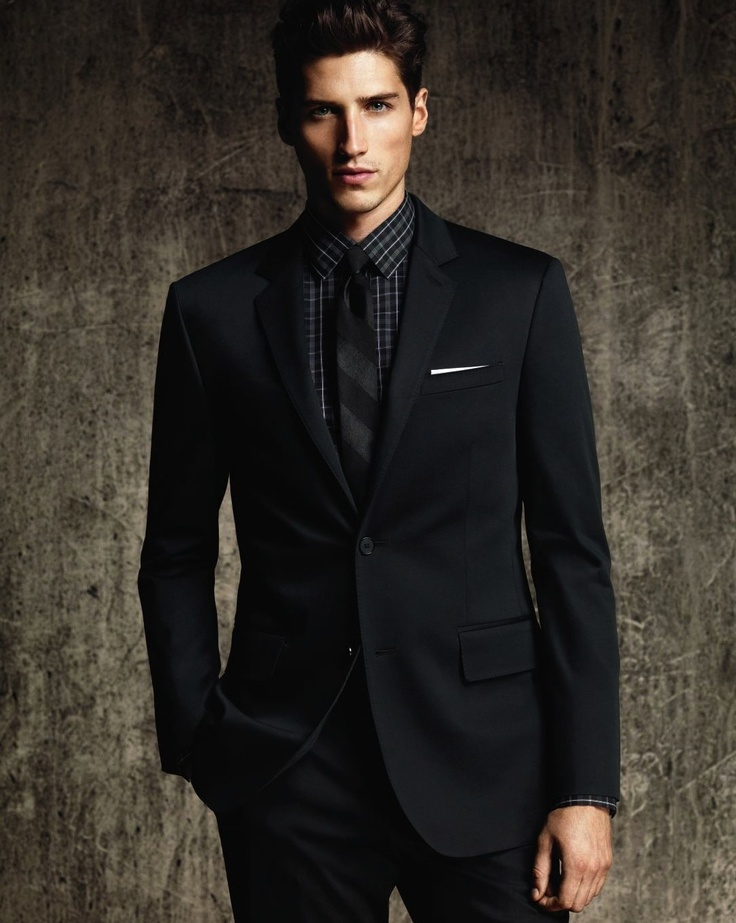 2017 Latest Coat Pant Designs Black Wedding Suit for Men ...