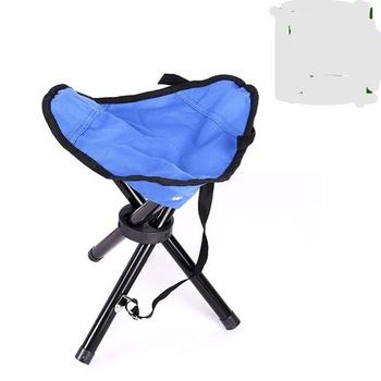Plaża krzesło meble ogrodowe meble ogrodowe trójkąt stołek przenośny mini składane krzesło wędkarstwo krzesło kempingowe stoel 29*29 * 35c tanie i dobre opinie Aluminium Nowoczesne Ecoz 29*29*35cm Metal