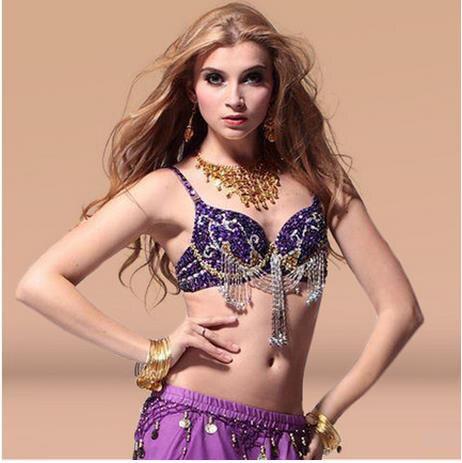 97c626e232 Belly dance costumes senior sexy stones tassel belly dance bra for women belly  dancing bra tops