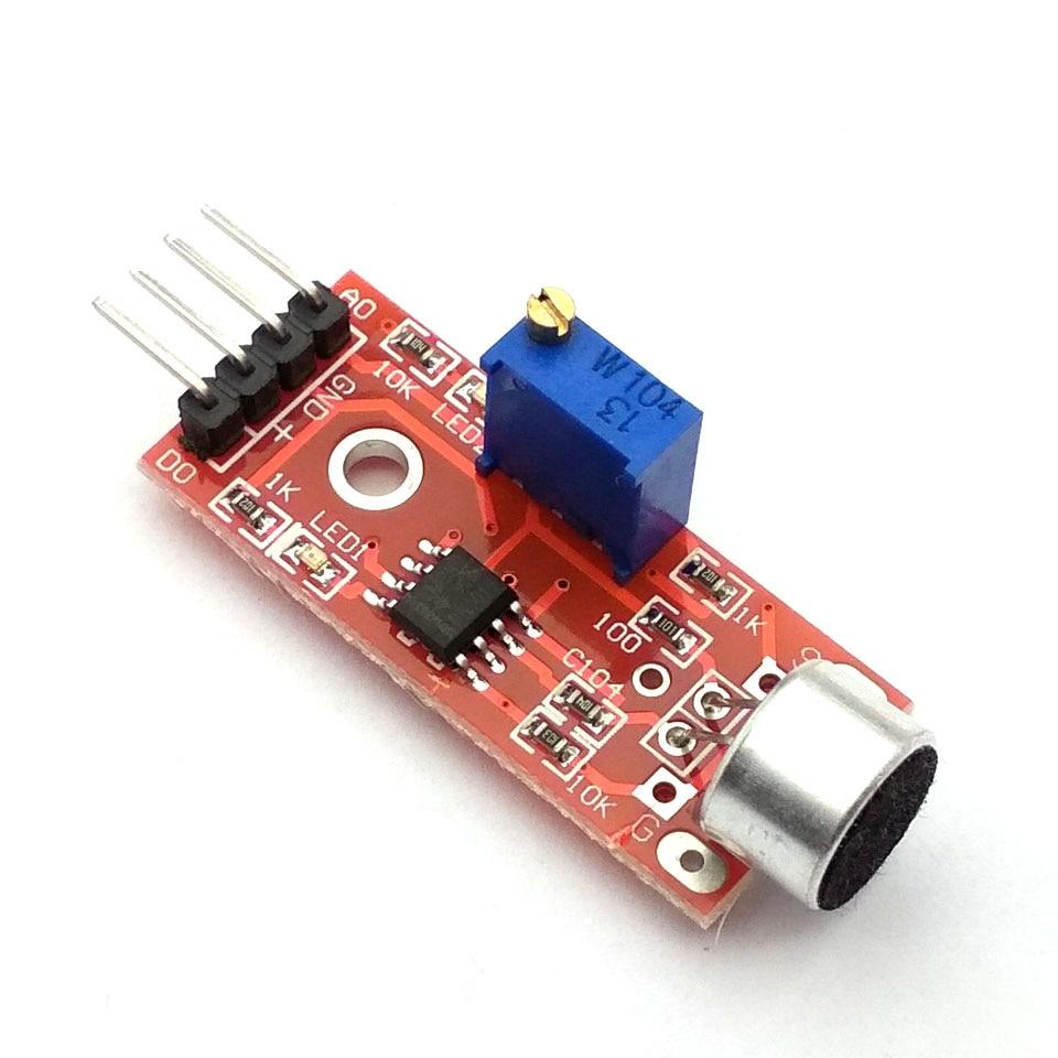 High Sensitivity Sound Microphone Sensor Detection Module For Arduino