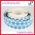 1000pcs/roll Eyeglasses lens edging adhesive blocking pad optical accessories