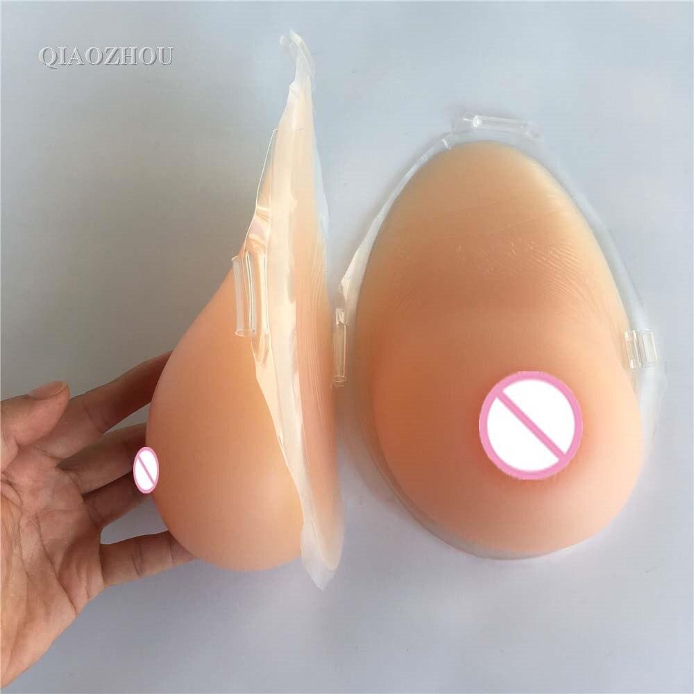 Накладная грудь из презервативов