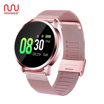 Newwear Q8 Plus Smart Watch Bracelet CNC Version Waterproof Heart Rate Blood Pressure Sleep Multi-Sports Fitness Smartwatch