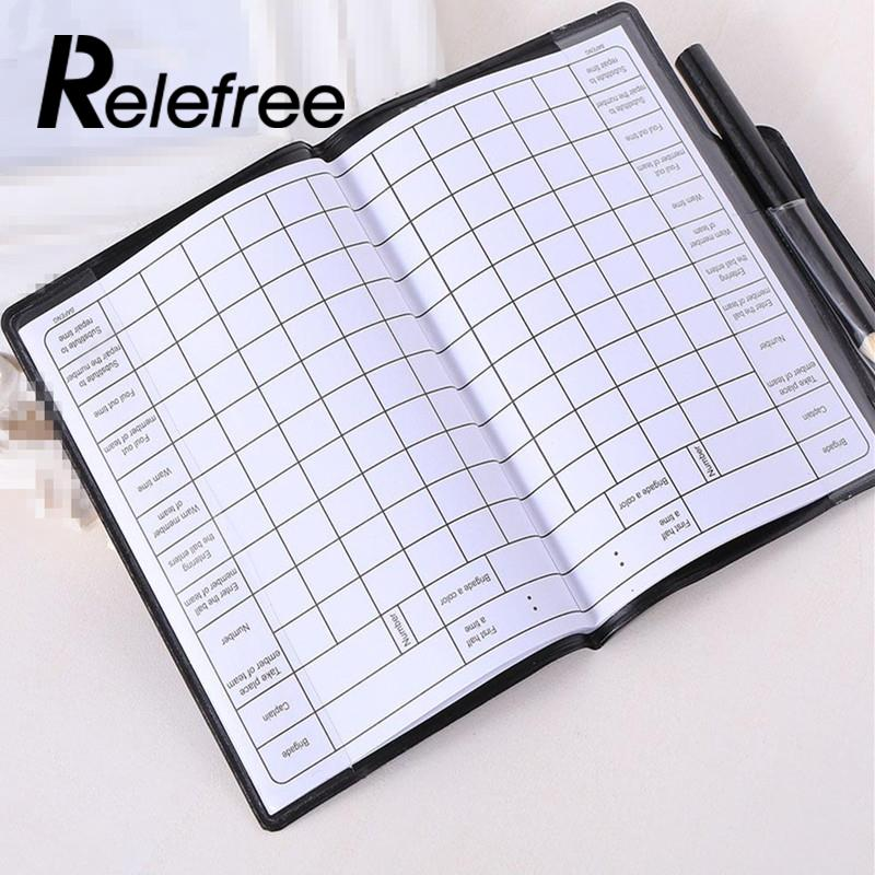 Soccer Referee Supplies Football Red Card Game Appliances Cards Wallet Pencil Notebook Set In Soccers From Sports Entertainment On