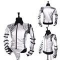 Cosplaydiy unisex traje famous star michael jackson astilla chaqueta de abrigo traje cosplay para halloween cosplay