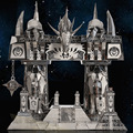 Horde and Alliance Door of darkness Gul'dan 3D Metal assembling model DIY Puzzle The desktop decoration gift to children