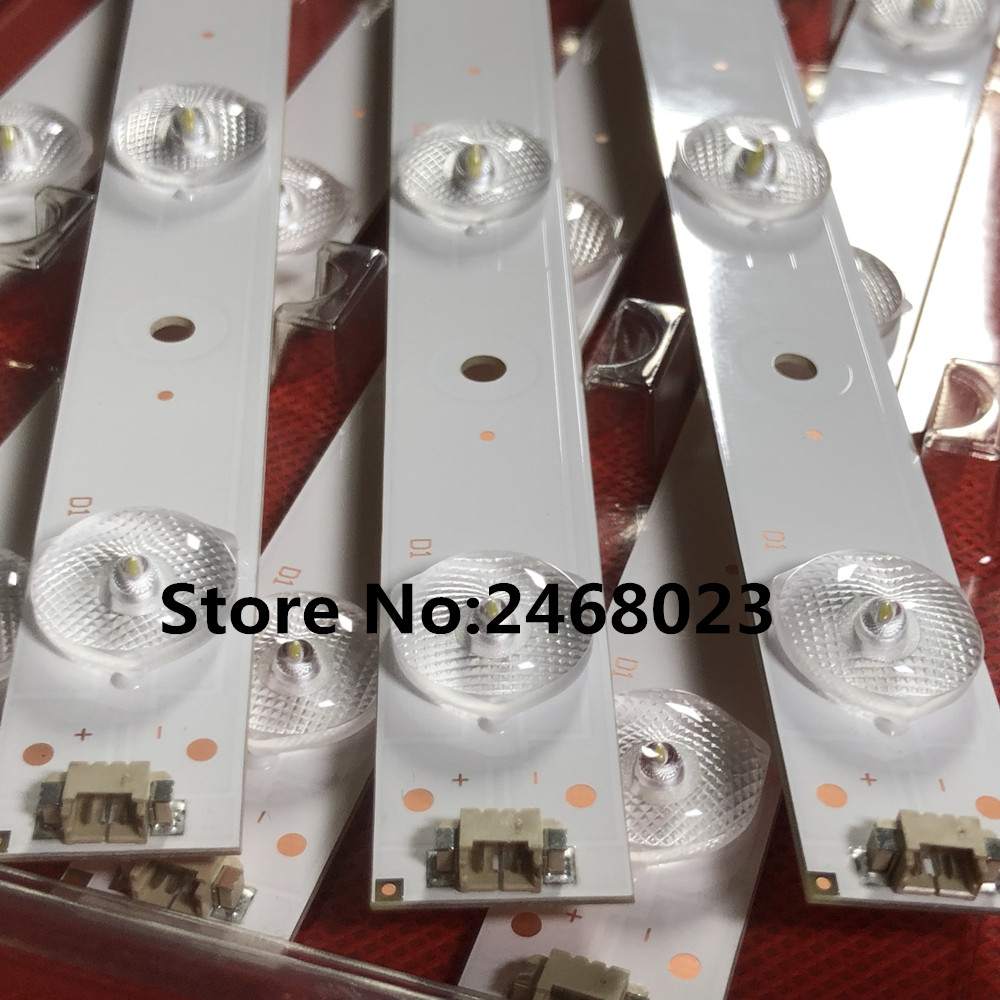 New 3 PCS 10LEDs 635mm LED Backlight Strip For 32PAL535 LE32B310N LED315D10-07(B) 30331510219 LED315D10-ZC14-07(A) 30331510213