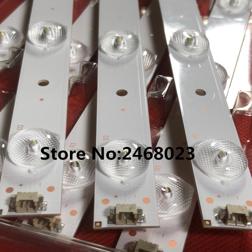 New 3 PCS 10LEDs 635mm LED Backlight Strip For 32PAL535 LE32B310N LED315D10-07(B) 30331510219 LED315D10-ZC14-07(A) 30331510213