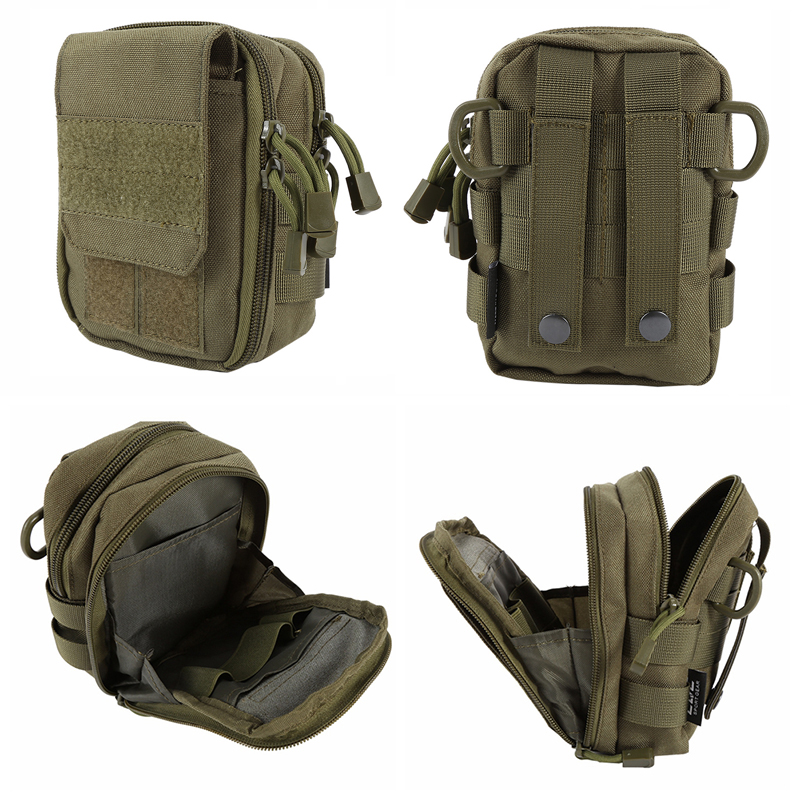 Tactical Military Jagd Kleine Utility Pouch Pack Armee Molle ...