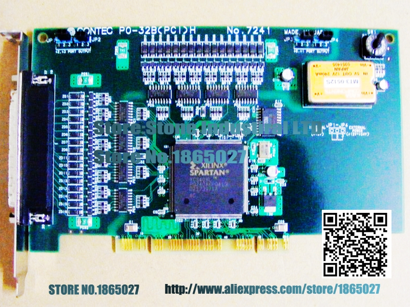 PO-32B (PCI) H No.7241 data acquisition card 100% test good quality волна морская 30 x 45см