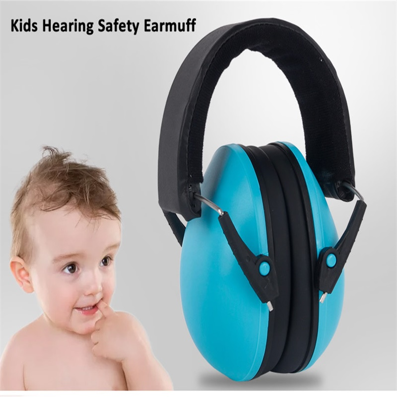 New Colorful Hearing Protector Kids Anti-Noise Headphones Earmuff For Children Sleep Anti-snoring Baby Soundproof Ear Protection
