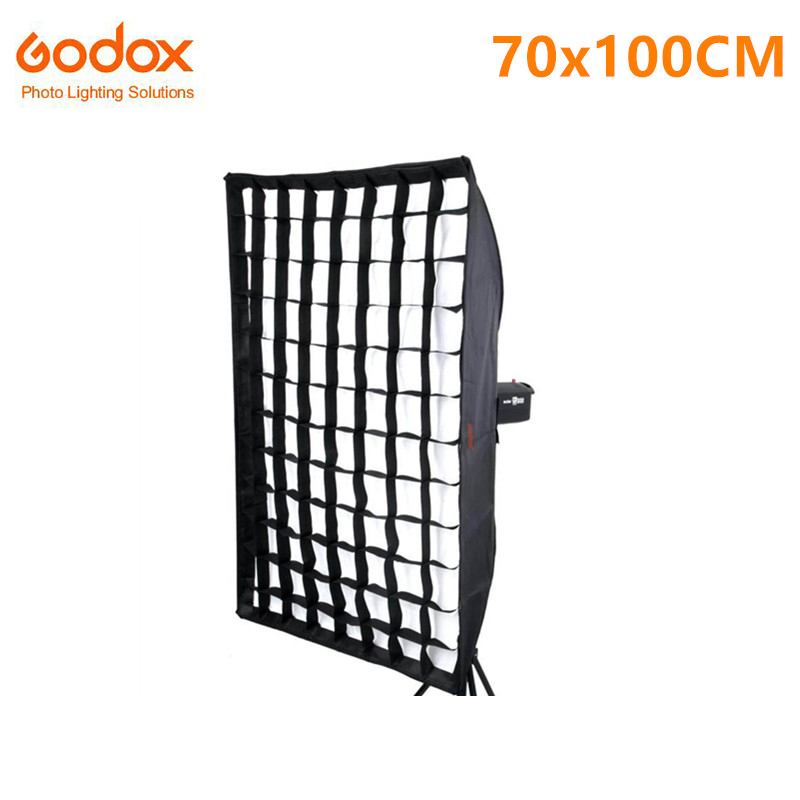 Godox SB-FW70X100CM Softbox with Grid 70x100cm Bowens Mount for Strobes Photo Studio