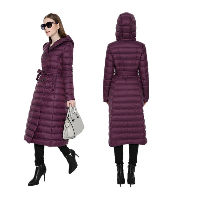 2b87260e74a3 Add a long down jacket with a slim hooded winter coat NRWT005-in ...