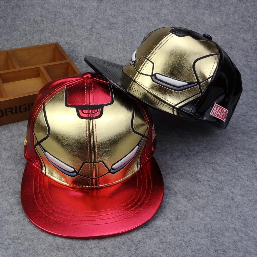 Prix pour Iron Man casquette de baseball Nouvelle Mode Snapback Chapeaux marque Hip-Hop cap Os aba reta gorras Chapeau planas casquette de Haute Qualité