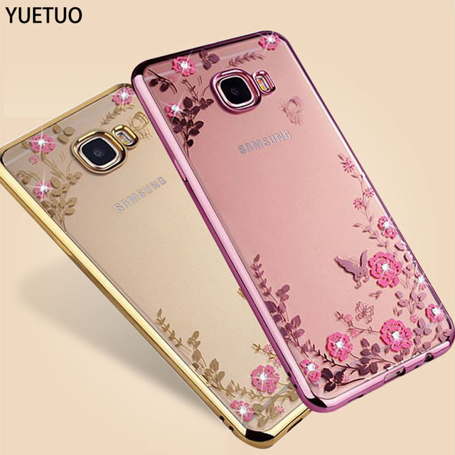 YueTuo luxury original gold tpu coque cover case for