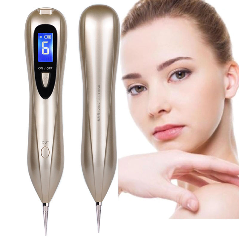Laser Plasma Pen Mole Removal Dark Spot Remover LCD Skin Care Point Pen Skin Wart Tag Tattoo Removal Tool Cosmetology Devices