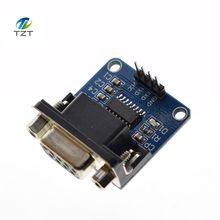 1pcs/lot MAX3232 RS232 to TTL Serial Port Converter Module DB9 Connector MAX232(China)