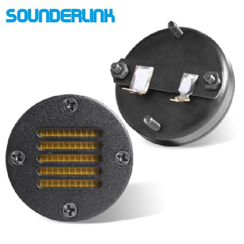 Sounerlink 2ピース/ロットエアモーショントランススピーカーツイーターリボンamtカースピーカー8オーム15ワット  グループ上の 家電製品 からの 本棚スピーカー の中 1
