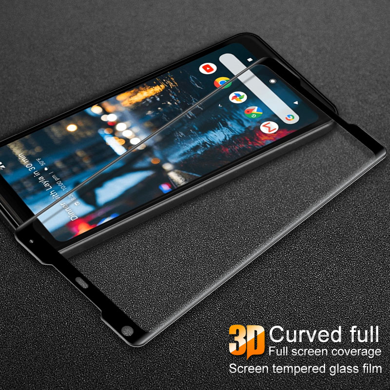 sFor Google Pixel 2 XL Tempered Glass IMAK 3D Curved Full Cover Tempered Glass Screen Protector For Google Pixel2 XL