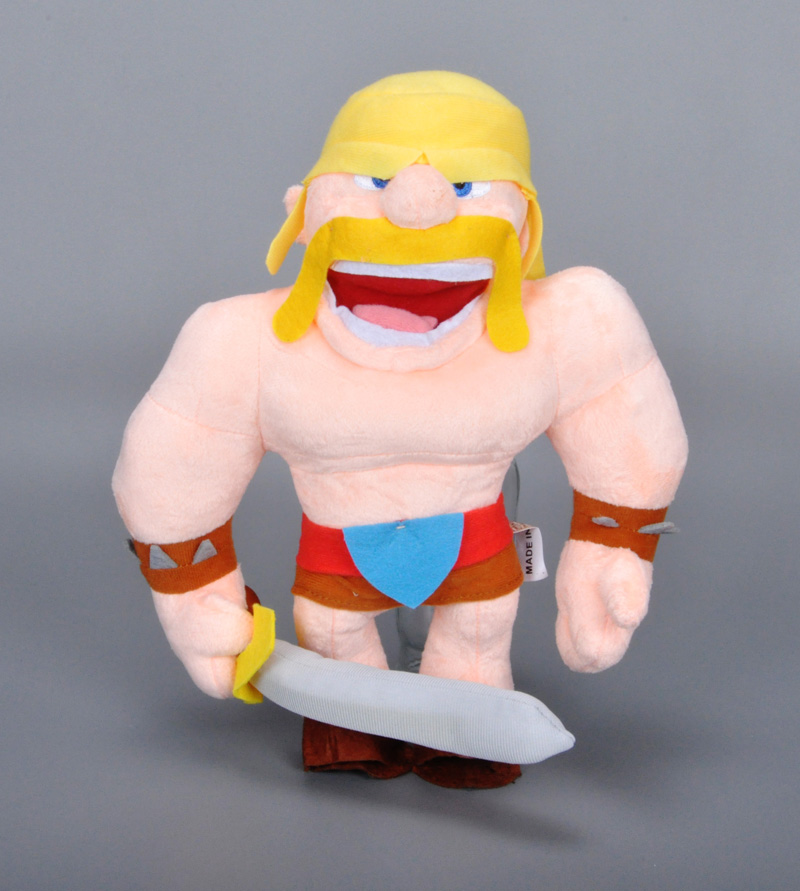 Clash of clans plush toys COC Archer Wizard Barbarian