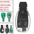 (1 шт./лот) Пульт дистанционного управления Smart Key 433 МГц 3 кнопки для Mercedes BENZ replacment 2000 + Поддержка NEC и BGA Keyless CARD