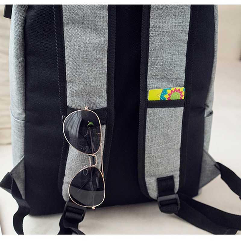 Anti-theft паролем Холст Школьные сумки рюкзаки для мальчиков-подростков высокое Студент Книга сумка Для мужчин Usb зарядки путешествия back Pack портфель школьный для мальчиков