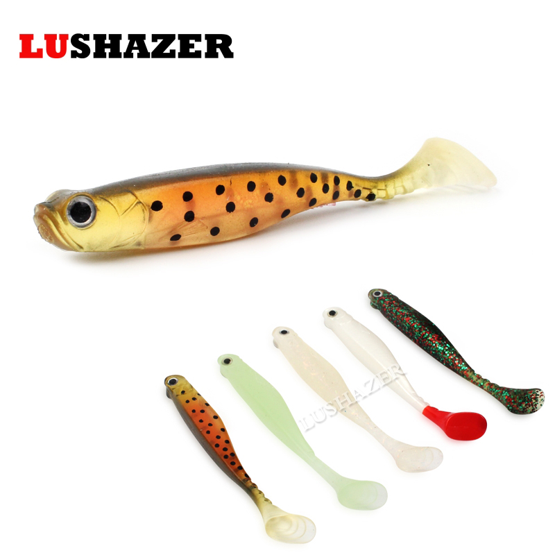 5pcs/lot LUSHAZER fishing soft lures 6g 10cm isca artificial lote soft baits silicone baits carp fishing jig lure fish wobbler 5 pcs lot 6 5cm 2g worm soft lures fishing pesca fish peche wobblers tackle leurre souple isca artificial soft baits carp yr 156