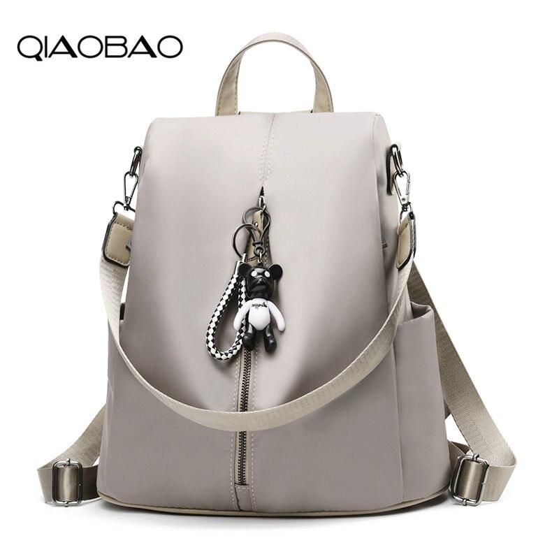 QIAOBAO Women Waterproof Oxford Backpacks Ladies Rucksack School Backpack For Girls Fashion Travel Bag Bolsas Mochilas Sac A Dos