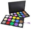 Doble Capa 30 Full Color Shimmer Mate Paleta Sombra de ojos Mineral Cosmético Profesional Sombra de Ojos Maquillaje Paleta Set