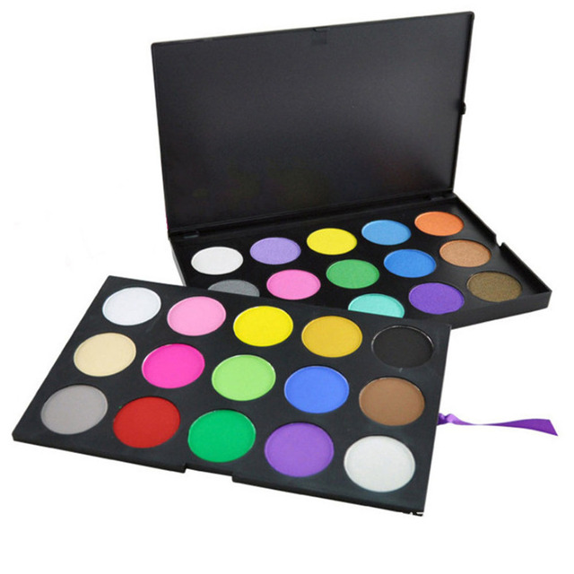 Dupla Camada 30 Full Color Shimmer Matte Eyeshadow Palette Professional Cosméticos Sombra Mineral Makeup Palette Set