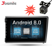 7 Android 8,0 ips машинный DVD проигрыватель для VOLVO S60 V70 XC70 2000 2004 2 Din Octa Core HD gps навигации ради, сan шина рулевое колесо
