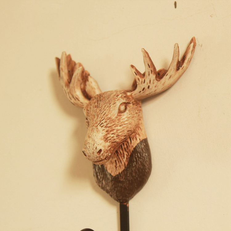 Modern Moose Head Wall Decor Embellishment - Art & Wall Decor ...
