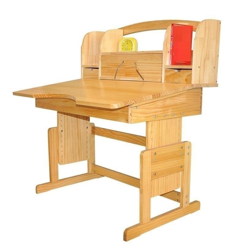 learning desks and chairs set wooden Children's child students homework desk