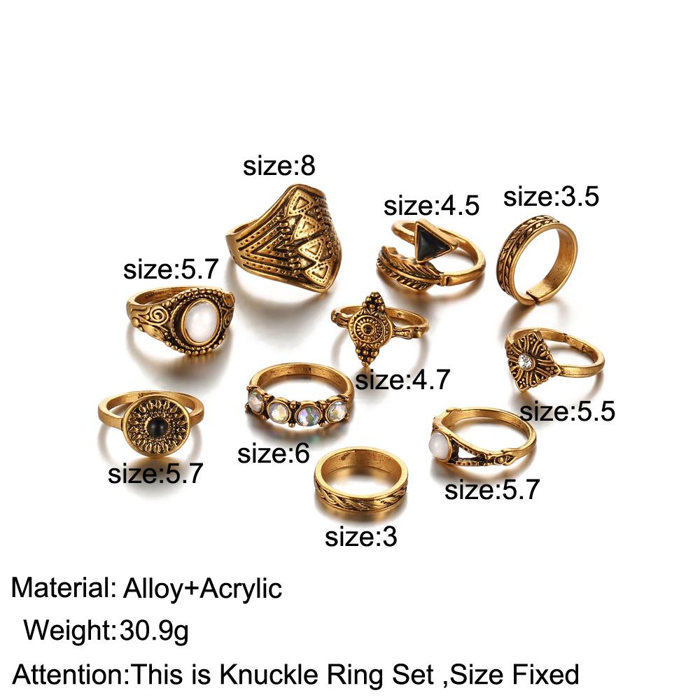 HTB1r8EiRXXXXXXKXpXXq6xXFXXXd Tribal Fashion 10-Pieces Vintage Midi Ring Set With Opal Stones - 2 Colors