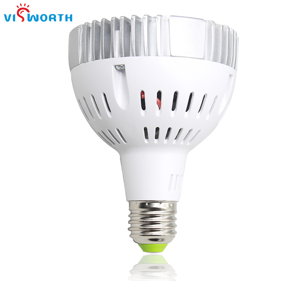 New Ultra Bright par30 led light bulb E27 led lamp 36w 24pcs spotlight bulb ac 110v 220v ...