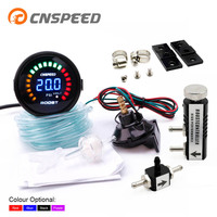 CNSPEED 2 52mm 20 Car Digital LED Turbo Boost Gauge 15 45PSI Turbo Boost Controller Kit + Adjustable 1 30 PSI YC101339