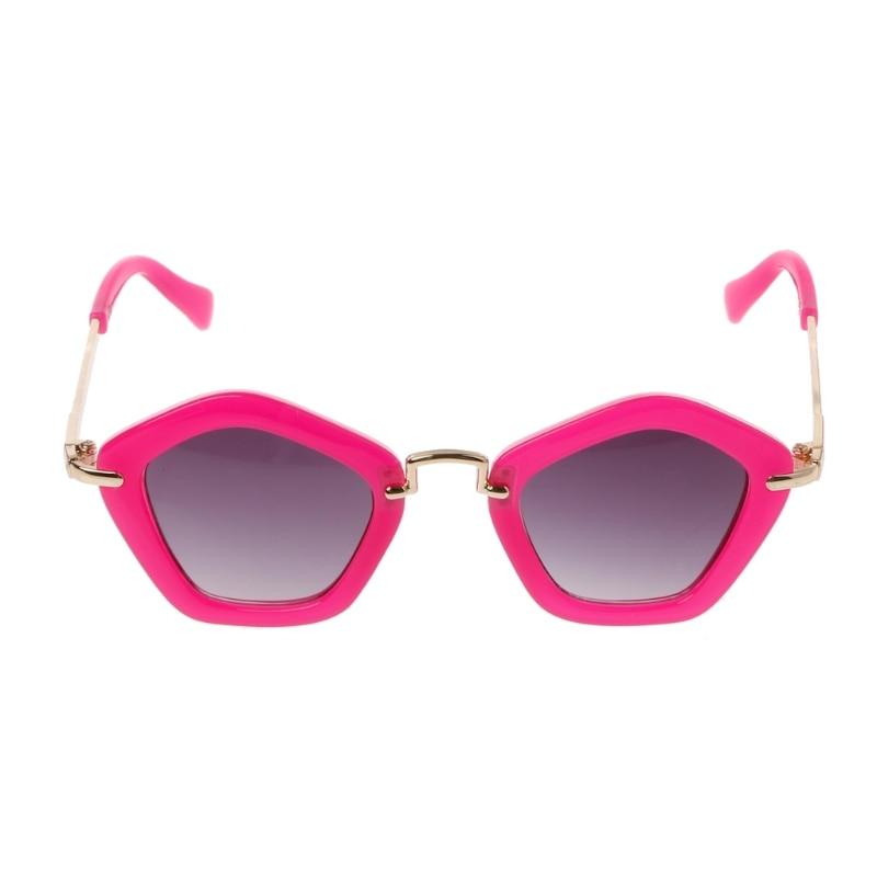 Sunglasses Polygon Children Boys Girls Sun Glasses Baby Eyeglasses Goggles Kids