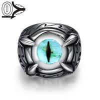 R234 Unique Star Celebrity Movie Magic Ring Men Styles 316L Stainless Steel Finger Rings Black Titanium