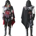 Assassin's Creed II Cosplay Costume Assassins Creed Ezio Costume Kids Men clothes sets