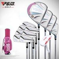 PGM VS II Для женщин Гольф полный набор 1 гольф Стандартный мяч мешок и 12 Гольф клубы правой рукой