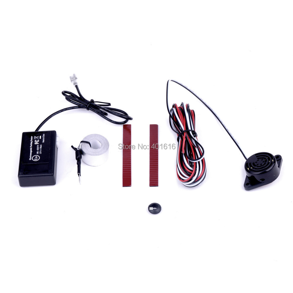 free shipping Electromagnetic parking sensor no hole no drill Auto Reverse Backup Detector System