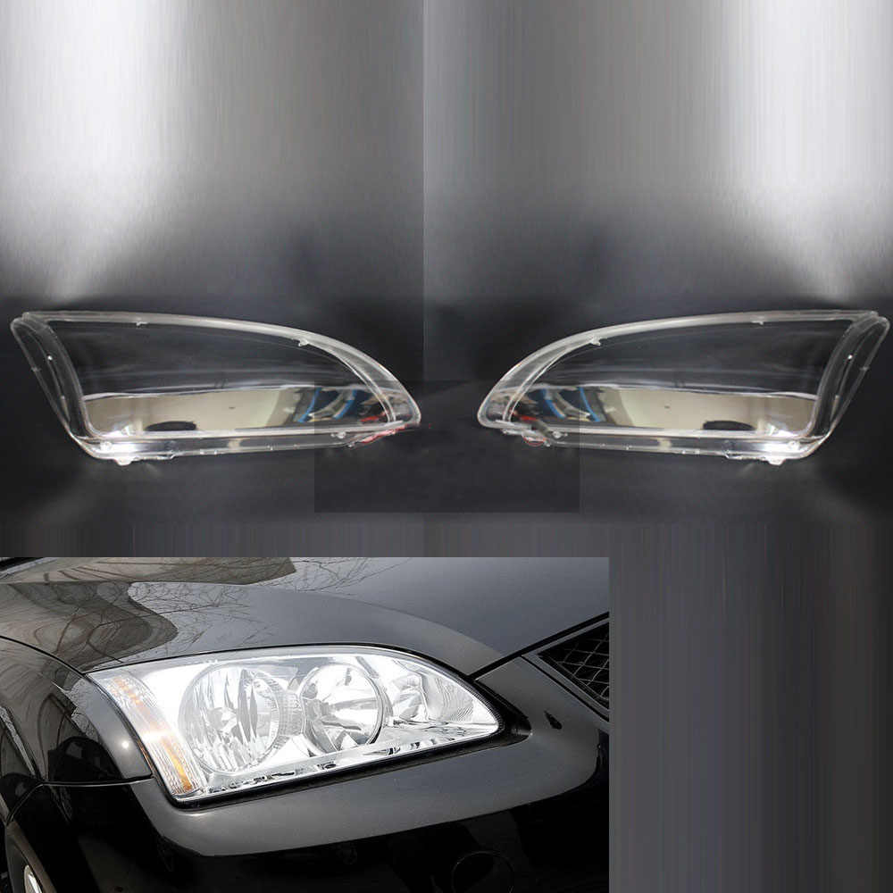 Voor Ford Focus 2005 2006 2007 2008 Auto Koplamp Koplamp Clear Lens Shell Cover Driver & Passenger Side Auto Shell