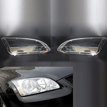 For Ford Focus 2005 2006 2007 2008 Car Headlight Headlamp Clear Lens Shell Cover Driver