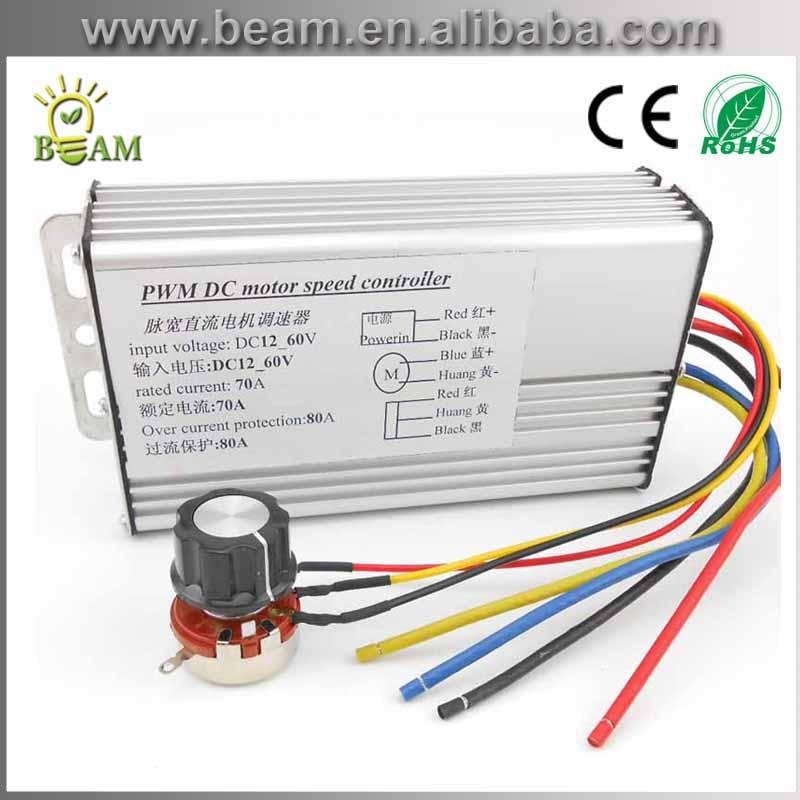 Livraison gratuite industrielle haute puissance PWM dc moteur régulateur de vitesse 12 V 24 V 36 V 48 V 4000 W DC moteur régulateur de vitesse